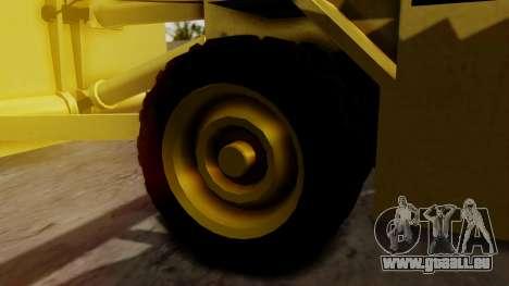 HVY Cutter pour GTA San Andreas sur la vue arrière gauche