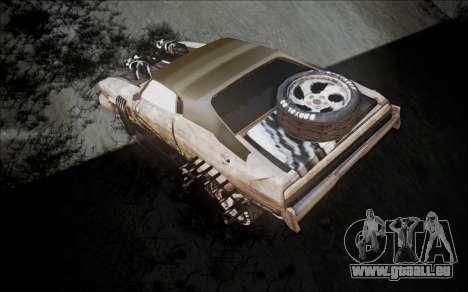 Mad Max 2 Ford Landau pour GTA San Andreas sur la vue arrière gauche