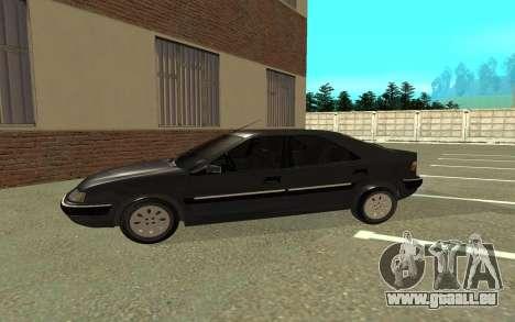 Citroen Xantia pour GTA San Andreas sur la vue arrière gauche