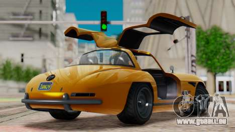 GTA 5 Benefactor Stirling IVF pour GTA San Andreas laissé vue