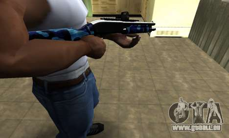 Water Shotgun für GTA San Andreas