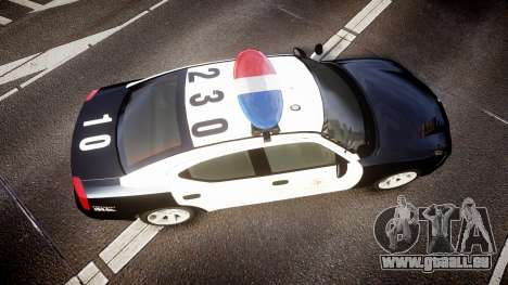 Dodge Charger 2010 LAPD [ELS] pour GTA 4 est un droit