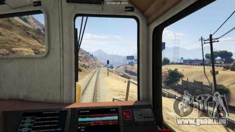 GTA 5 Railroad Engineer 3 troisième capture d'écran