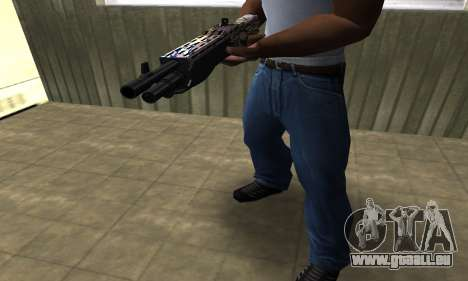 Brown Combat Shotgun für GTA San Andreas zweiten Screenshot