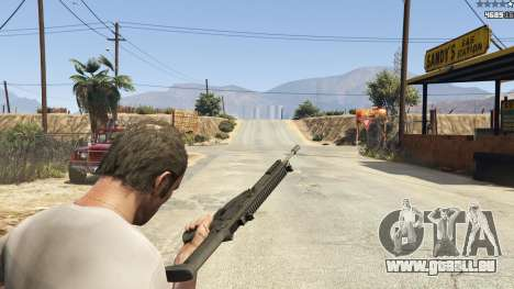 GTA 5 BF4 AR160 neunter Screenshot