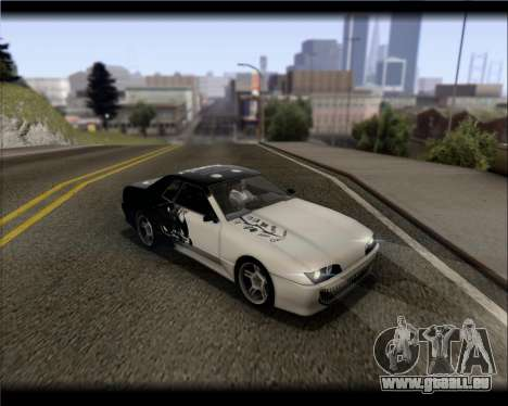 Elegy Hard Stunt pour GTA San Andreas salon
