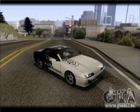 Elegy Hard Stunt für GTA San Andreas Innen