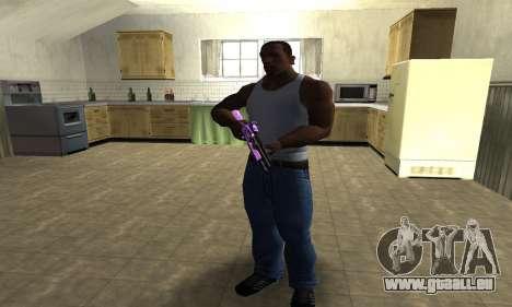 Purple World Shotgun pour GTA San Andreas troisième écran