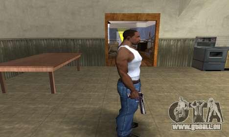 Purple Deagle pour GTA San Andreas troisième écran