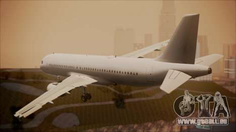 Airbus A320-200 pour GTA San Andreas laissé vue