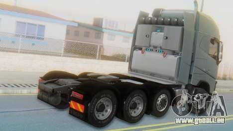 Volvo FH Euro 6 Heavy 8x4 pour GTA San Andreas laissé vue