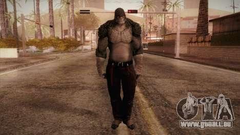 Killer Croc (Batman Arkham Origins) für GTA San Andreas zweiten Screenshot
