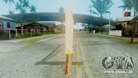 Red Dead Redemption Knife Diego Skin für GTA San Andreas