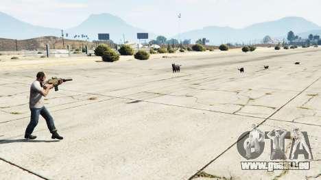 GTA 5 Animal Cannon v1.1 deuxième capture d'écran