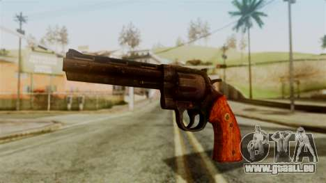 Colt Revolver from Silent Hill Downpour v2 für GTA San Andreas