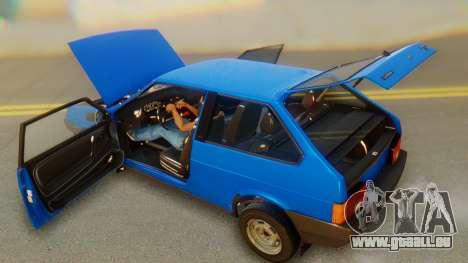 VAZ 2108 Stoke für GTA San Andreas Unteransicht