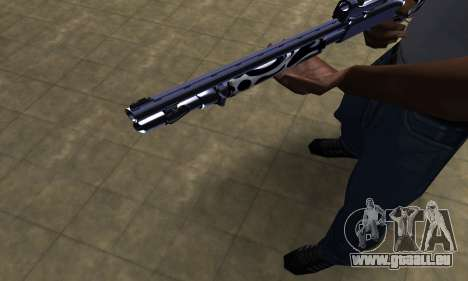 Oval Shotgun pour GTA San Andreas deuxième écran