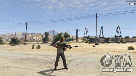 Halo UNSC: Sniper Rifle pour GTA 5