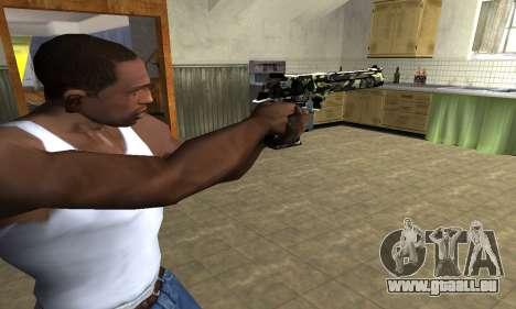 Deagle Camo für GTA San Andreas zweiten Screenshot