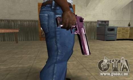 Purple Deagle pour GTA San Andreas