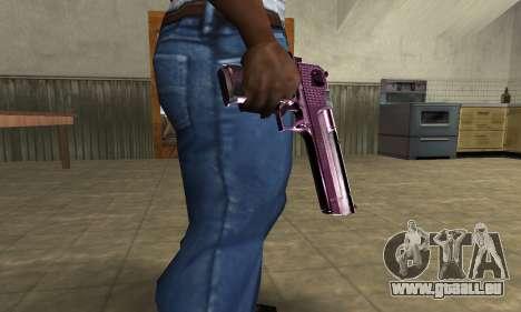 Purple Deagle für GTA San Andreas
