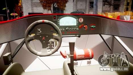 Radical SR8 RX 2011 [6] pour GTA 4 est une vue de l'intérieur