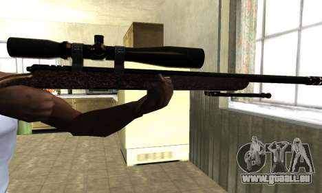 Gold Sniper Rifle für GTA San Andreas dritten Screenshot