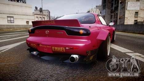 Mazda RX-7 RocketBunny [EPM] pour GTA 4 Vue arrière de la gauche