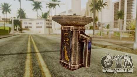Forensic Flashligh from Silent Hill Downpour pour GTA San Andreas deuxième écran