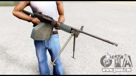 Type 88 Battlefield 4 pour GTA San Andreas troisième écran