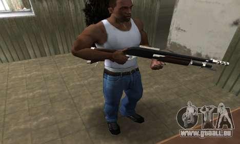 Biggie Shotgun pour GTA San Andreas troisième écran