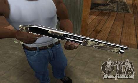 Militarry Shotgun für GTA San Andreas