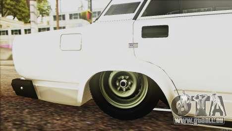 VAZ 2107 E-Design pour GTA San Andreas vue de côté