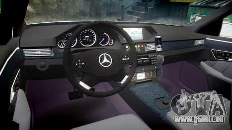 Mercedes-Benz E63 AMG Estate 2012 Police [ELS] für GTA 4 Rückansicht