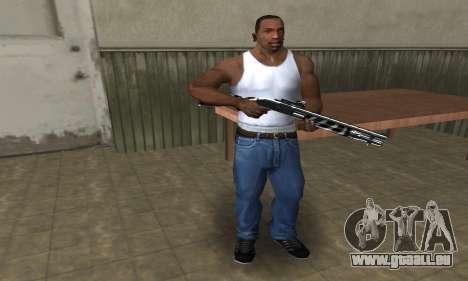 Two Lines Shotgun für GTA San Andreas zweiten Screenshot