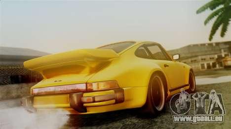 Porsche 911 Turbo (930) 1985 Kit C PJ pour GTA San Andreas laissé vue