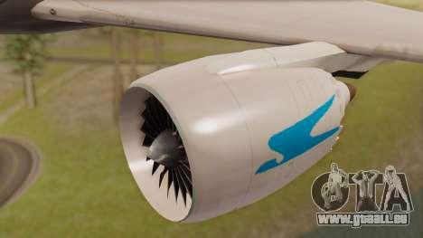 Boening 737 Argentina Airlines pour GTA San Andreas vue de droite