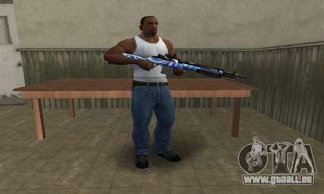 JokerMan Rifle pour GTA San Andreas troisième écran