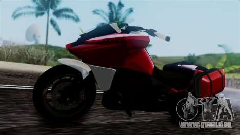 Dinka Vindicator SA Plate pour GTA San Andreas vue de droite
