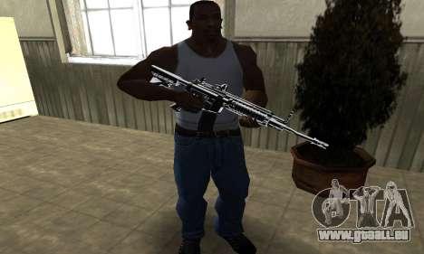 Original M4 pour GTA San Andreas troisième écran