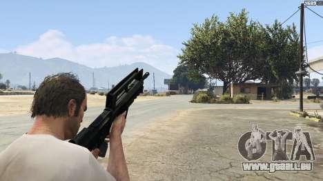 GTA 5 Famas F1 neuvième capture d'écran