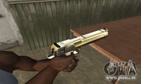 Full of Gold Deagle pour GTA San Andreas
