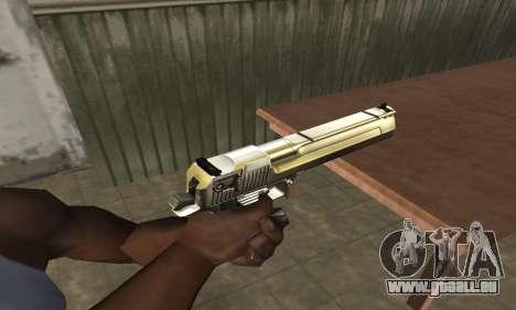 Full of Gold Deagle pour GTA San Andreas