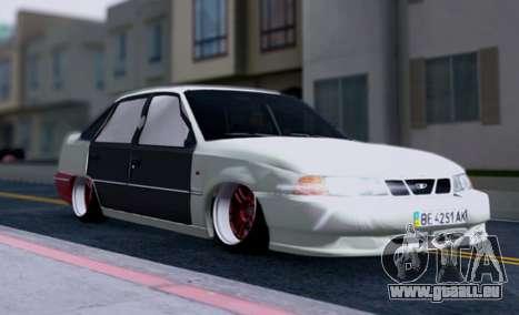 Daewoo Nexia 2006 pour GTA San Andreas vue de dessous