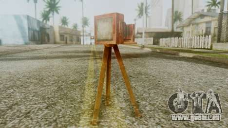 Red Dead Redemption Camera pour GTA San Andreas deuxième écran