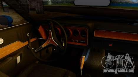 Dodge Charger Super Bee 426 Hemi (WS23) 1971 PJ pour GTA San Andreas vue de droite