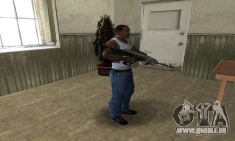 Brown AUG pour GTA San Andreas troisième écran
