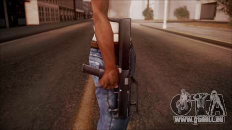 FMG-9 from Battlefield Hardline für GTA San Andreas dritten Screenshot