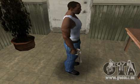 Full of Gold Deagle für GTA San Andreas dritten Screenshot