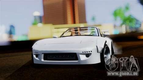Mazda RX-7 (FD) für GTA San Andreas zurück linke Ansicht